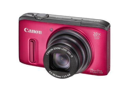 "Canon PowerShot SX260 HS - Cámara compacta de 12.1 Mp (pantalla de 3"", zoom óptico 20x, estabilizador de imagen , GPS) color rojo B0076W0LSG - http://www.comprartabletas.es/canon-powershot-sx260-hs-camara-compacta-de-12-1-mp-pantalla-de-3-zoom-optico-20x-estabilizador-de-imagen-gps-color-rojo-b0076w0lsg.html"