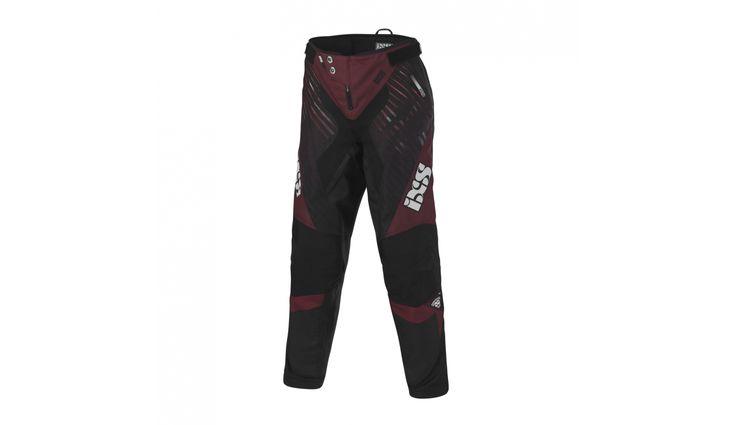 iXS Arius DH Race Pants Men red/black günstig kaufen ▷ fahrrad.de