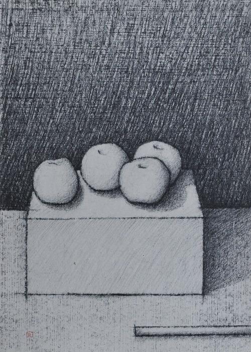 Still Life With Apples N°01 / Art by Slavomir Zombek