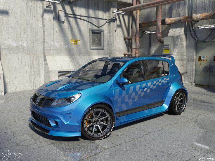Dacia Sandero Tuning 6 by cipriany