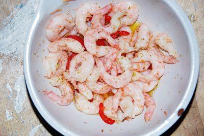 Järnbloggen: Marinated shrimps
