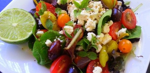 Greek salad, Father's day and Celebrations on Pinterest