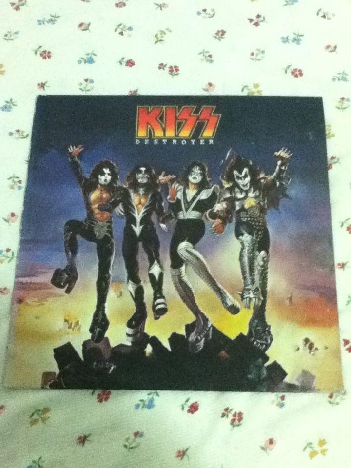 KISS - DESTROYER - 1976 - Casablanca Records - Vintage Vinyl Record