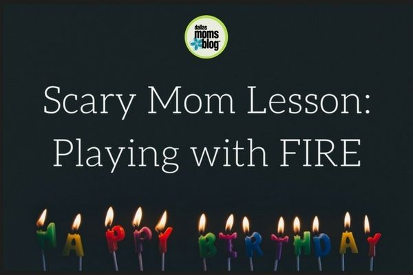 """Scary Mom Lesson: """"Playing"""" with FIRE #fire #kids"""
