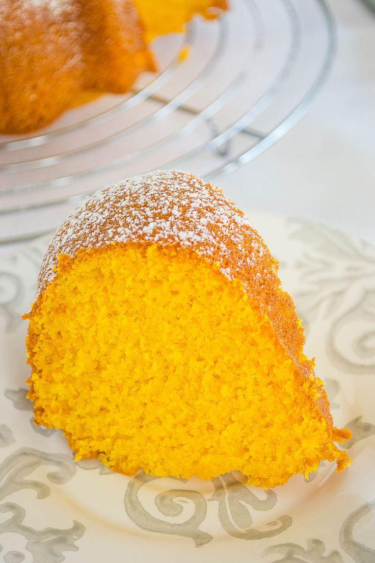 Queque de Zanahoria en Licuadora (Bolo de Cenoura - Brazilian Carrot Cake)