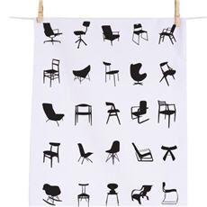 The Mid-Century Chair. On a tea towel. In any century forward.