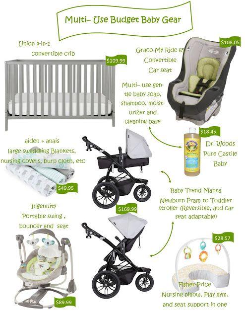 Trendy minimalist baby gear on a budget.