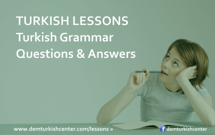 #Learn #Turkish #language with Turkish grammar questions & answers online via Skype