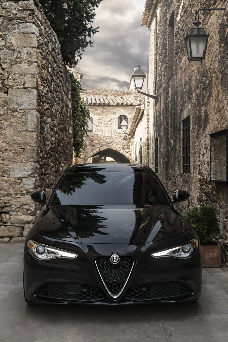 Alfa Romeo — Stand out at every occasion.