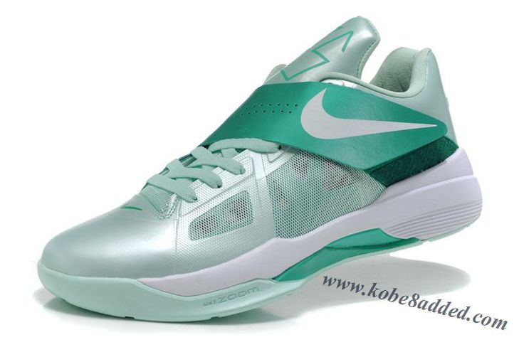 Nike Zoom KD IV 4 Kevin Durant Easter Mint Candy New Green White Basketball  Shoes 473679