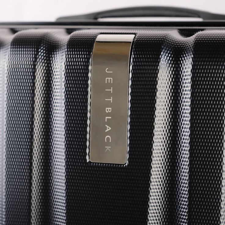Black Knight Series - Up Close. The latest sleek luggage set by Jett Black.