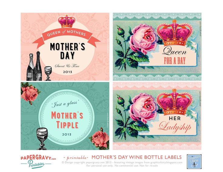 free printable wine labels the graphics fairy llc mothers day printable wine labels. Black Bedroom Furniture Sets. Home Design Ideas