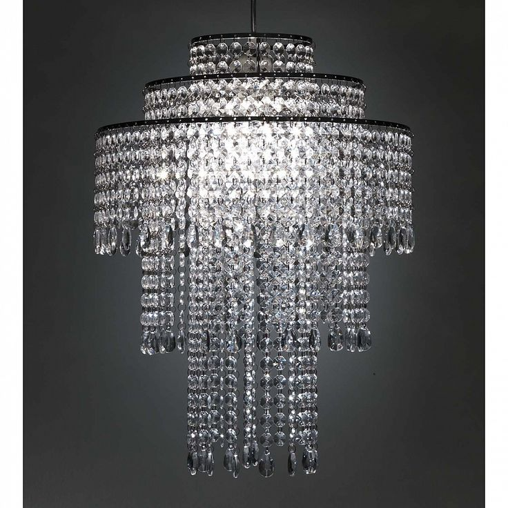 Italian design clear acrylic pendant lamp Classic by Tomasucci