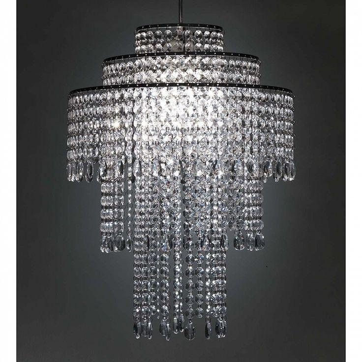 Italian design clear acrylic pendant lamp Classic by Tomasucci