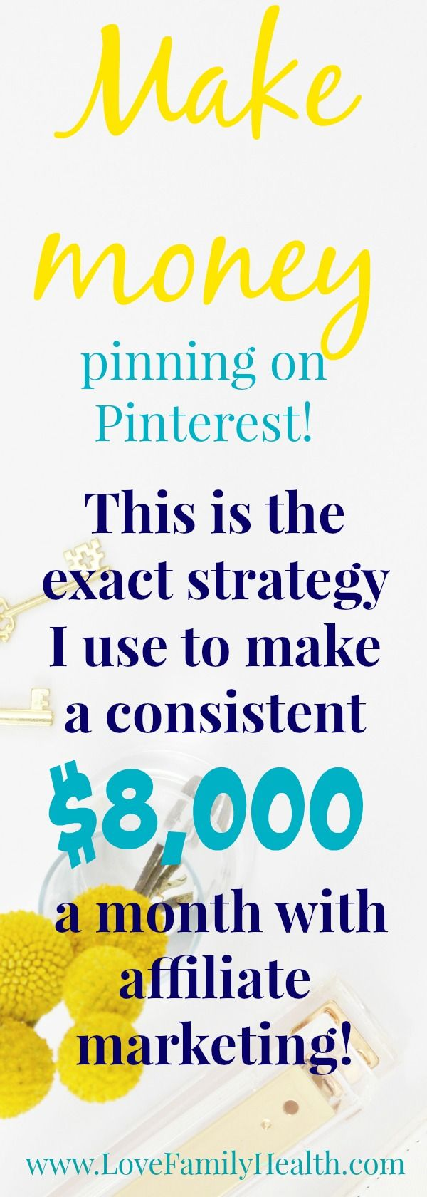How to make your first affiliate sale on Pinterest! – LoveFamilyHealth. | Blogger | Pinterest Marketing | Social Media Marketing | Pinterest Management
