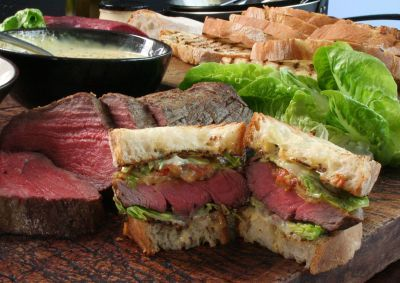 Gordon Ramsay's ultimate steak sandwich
