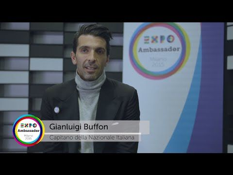 Ambassador Expo Milano 2015 Gianluigi Buffon #Expo2015 #Milan