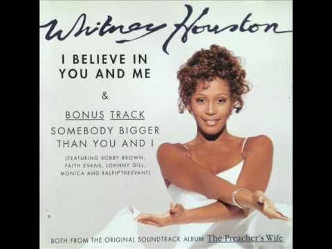 """Whitney Houston's sultry,captivating and sweeping soundtrack score for the romantic-comedy movie""""The Preacher's Wife"""".A simple and direct love ballad sang with heart and artistic calibration that we know Whitney for."""