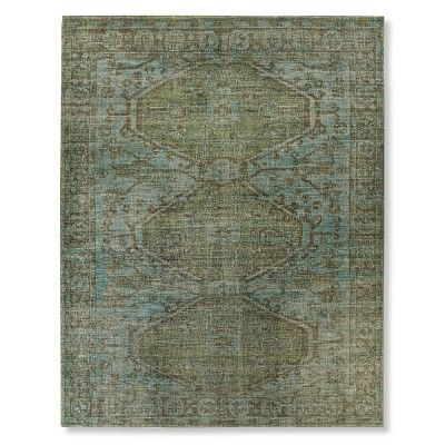 Anatolia Overdyed Hand Knotted Rug #williamssonoma