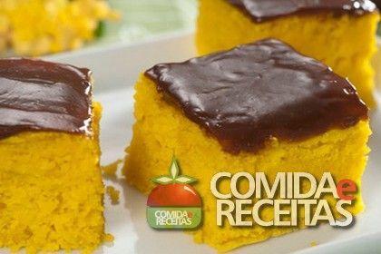 RECEITA DE BOLO DE CENOURA DIET