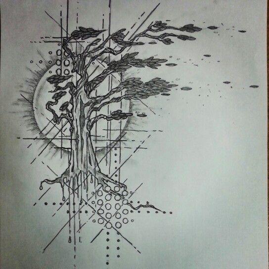 Tree Art - tattoo sketch by - Ranz