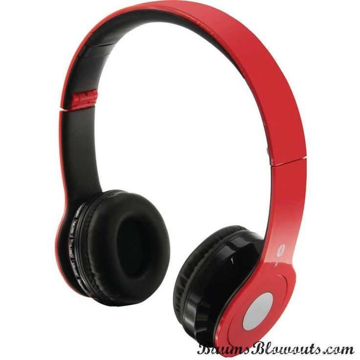 Ilive Over-ear Wireless Headset With Microphone (red)