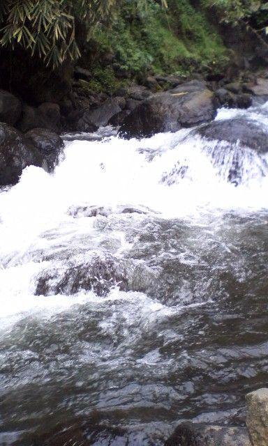 Sungai di area coban jahe