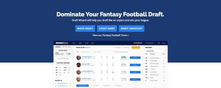Mock Drafting With the Mock Draft Simulator: Our 2017 Recommendation https://www.letstalkfantasyfootball.com/mock-draft-2017/?utm_content=buffereca46&utm_medium=social&utm_source=pinterest.com&utm_campaign=buffer