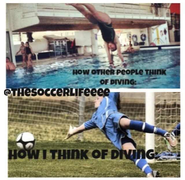 NOW you know why keepers look like they've been hit by a truck the next day of school...