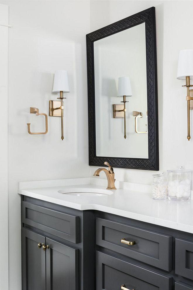 40+ Black and white bathroom vanities best