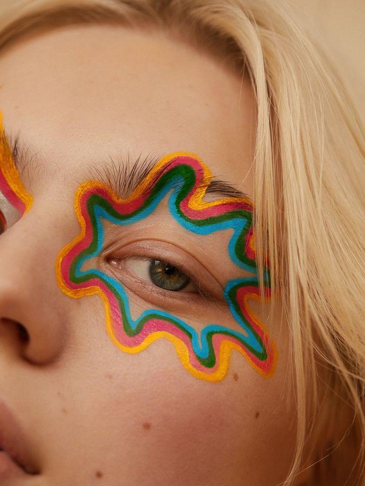Artsy Makeup Look Editorial Makeup Artistry Makeup Creative Makeup Looks
