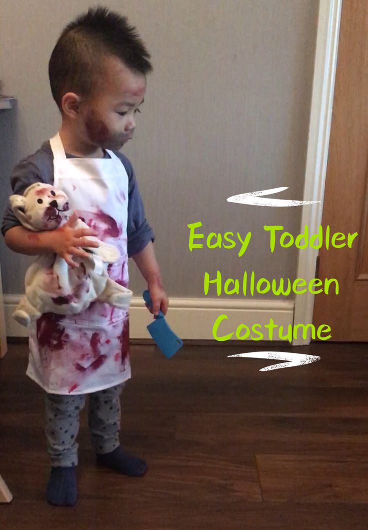 Incorporating something your little one likes into Halloween will make it a lot easier for them to digest! Here's our Easy Toddler Halloween Costume!