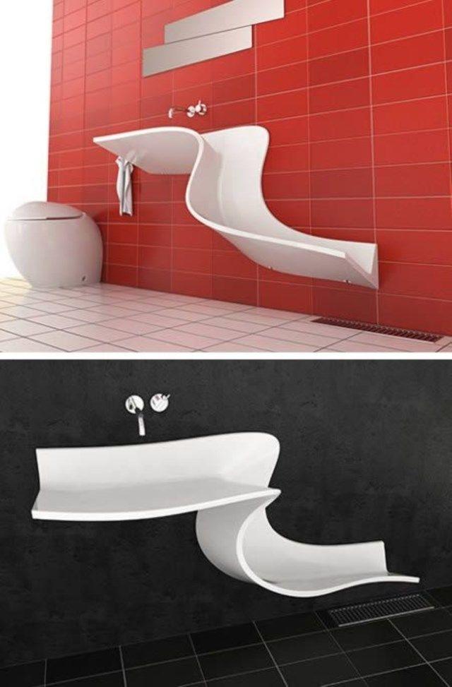 Você vai se surpreender com as pias de banheiro mais sensacionais já inventadas!