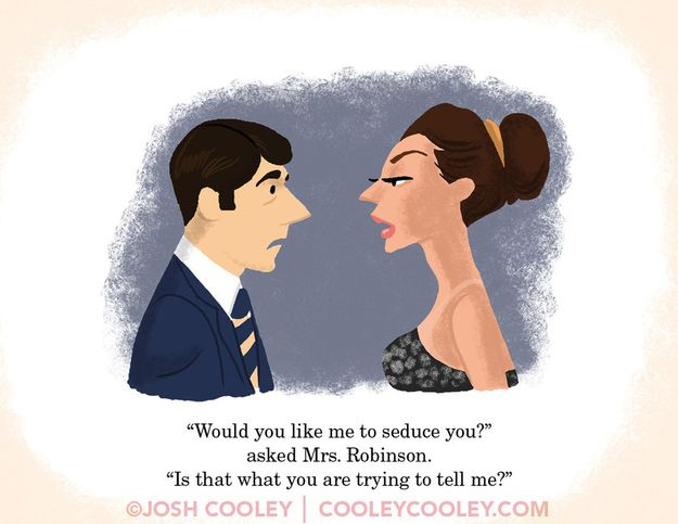 """A Pixar Artist Drew Classic R-Rated Film Scenes And Turned Them Into A """"Children's"""" Book 