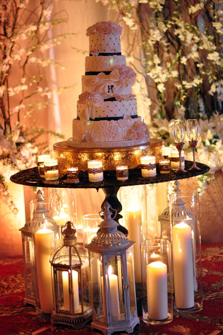 17 best images about wedding candle decor on pinterest for Ambiance decoration