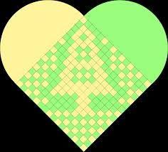 Billedresultat for flettede hjerter