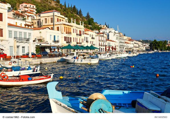 Gythion, Greece - This is an Eastern Mediterranean destination and a gateway to the dramatic Mani peninsula, where the architecture and scenic atmosphere will surely captivate visitors. Its colorful houses and easy-going lifestyle will help you relax, Greek-style!
