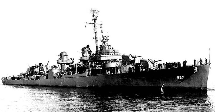 The USS Johnston and its Kamikaze Captain, Took On 4 Battleships, 8 cruisers, and 11 Destroyers At Leyte Gulf
