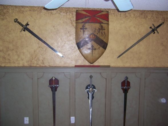 My sons bedroom, Medieval theme, Boys Rooms Design