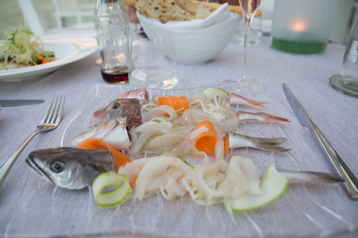 Antipasto в ресторане Guido, Rimini