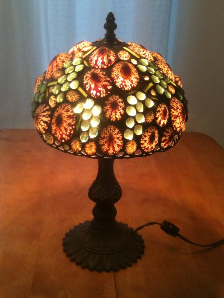 17 best images about shell lamps on pinterest sea shells. Black Bedroom Furniture Sets. Home Design Ideas