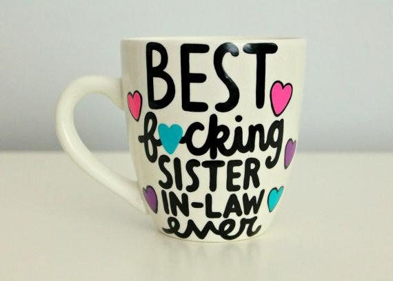 Sister In Law Gift Wedding Mug Brother Birthday Mature