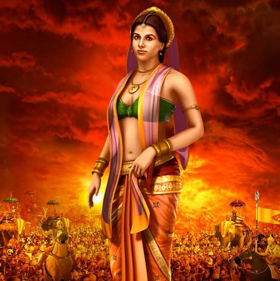 Best Angry Draupadi HD Images for free download