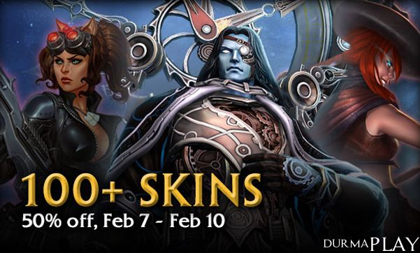 http://durmaplay.com.tr/index.php/2015ten-once-cikan-100un-uzerindeki-smite-skinlerde-muthis-indirimler/  Hi-Rez Studios tarafından geliştirilen, 25 Mart 2014 tarihinde Microsoft Windows ve Xbox One platformları üzerinde oyuncularla buluşturulan aksiyon ve çok oyunculu çevrim içi savaş arenası türündeki sevilen oyun Smite kısa süreliğine müthiş bir Smite Skin Sale kampanyasına imza atıyor  Oyun dünyasında yaklaşık 11 aylık bir geçmişi olsa da geni�