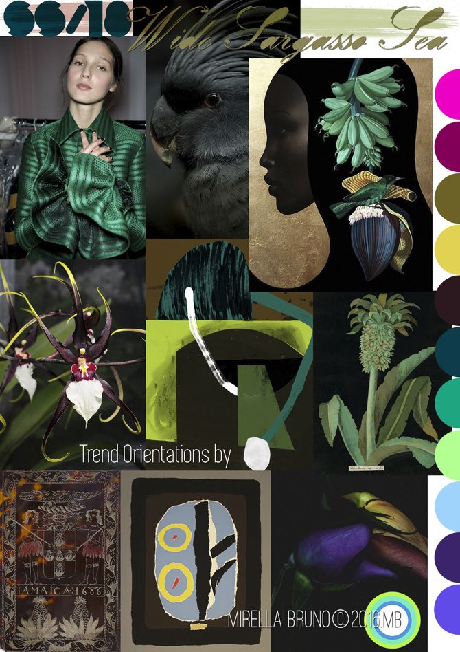 FASHION VIGNETTE: Moodboards