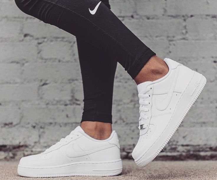 Nike air force 1 sneaker, legging, blog fitness fashion, Fitness Meiden