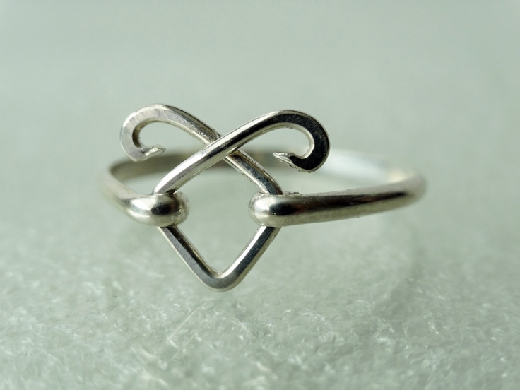 Angelic Power Rune ring Solid Sterling by TwilightEyesStudio