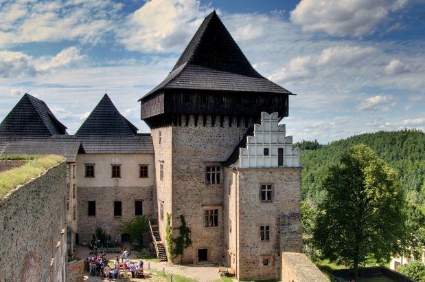 Castello di Lipnice, fortezza boema