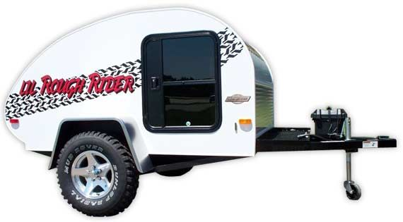 Rough Rider teardrop ultra-light camper trailers by Little Guy for sale in Tennessee.