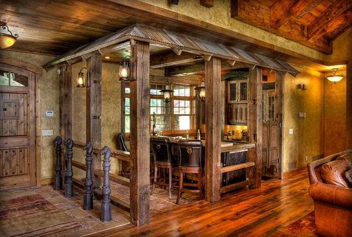 25 best ideas about rustic bars on pinterest man cave bar rustic outdoor bar furniture and - Rustic basement bar designs ...